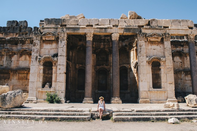 Exploring Baalbek Temples, Travel blog Lebanon