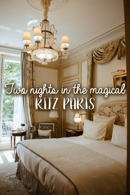 Two magical nights at the Ritz Paris. Review and blog.