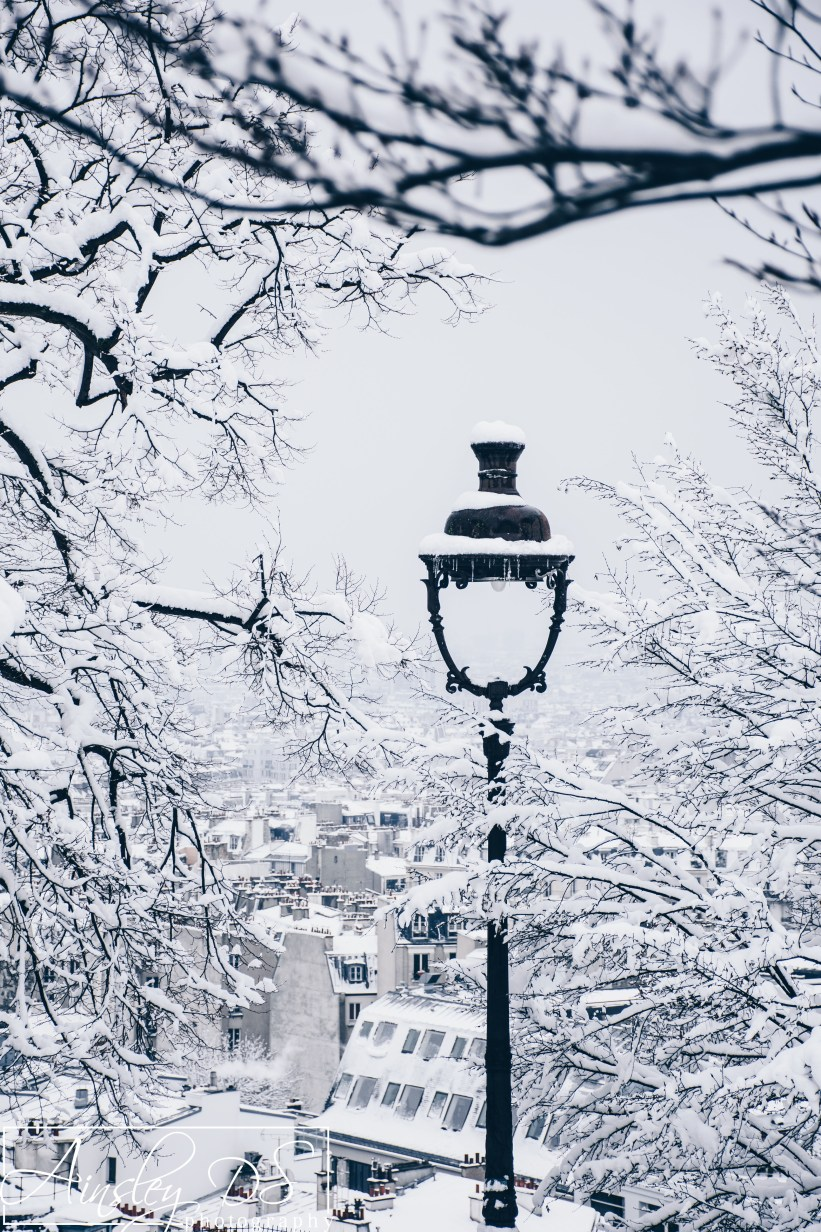 Snow in Paris, February 2017, Ainsley DS Photography