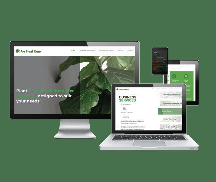 Laptop with Client Sites