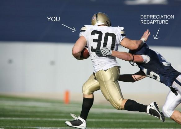 Nicholas Aiola, CPA - Depreciation Recapture: The Dark Side of Depreciation - Stiff Arm