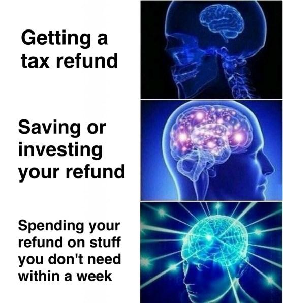 Nicholas Aiola, CPA - Tax Time Meme Dump - Expanded Brain Meme