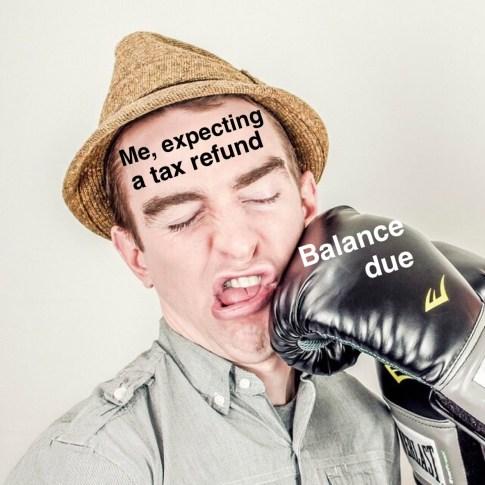 Nicholas Aiola, CPA - Tax Time Meme Dump - Punch