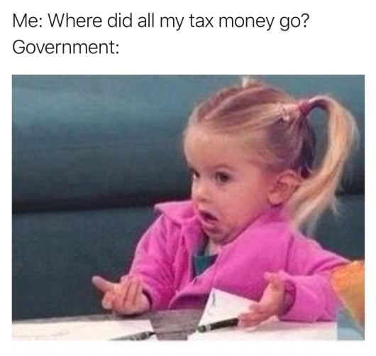 Nicholas Aiola, CPA - Tax Time Meme Dump - Shrugging Girl Meme