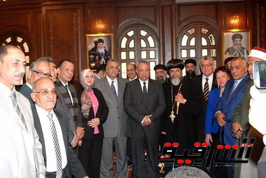 محافظ الشرقية : وحدة أبناء الوطن من مسلمين ومسيحيين ستظل صامدة وباقية لاتقبل التشكيك