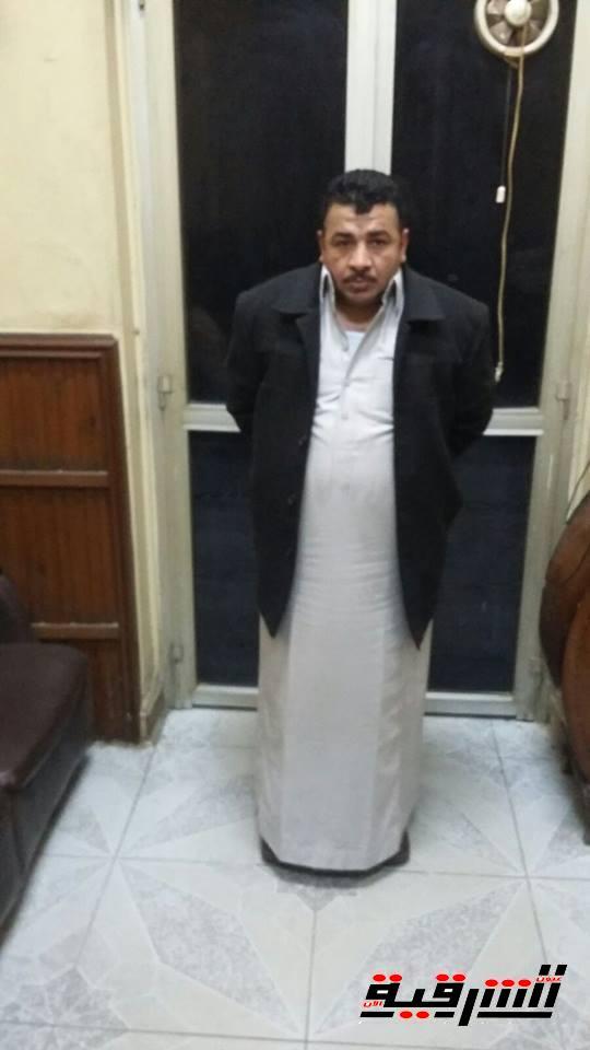 """مباحث الزقازيق تضبط """"خالد القط"""" عاطل الخانكة المتهم على ذمة قضايا جنائية"""