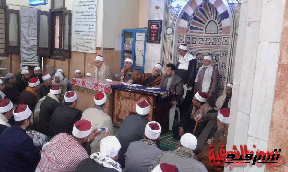 وكيل وزارة الأوقاف بالشرقية يجتمع بأئمة وخطباء أبوحماد والقرين