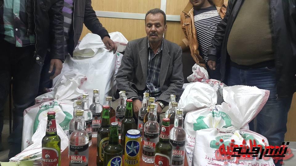 سقوط مسجل خطر يدير محل للمشروبات الكحولية بدون ترخيص بالشرقية