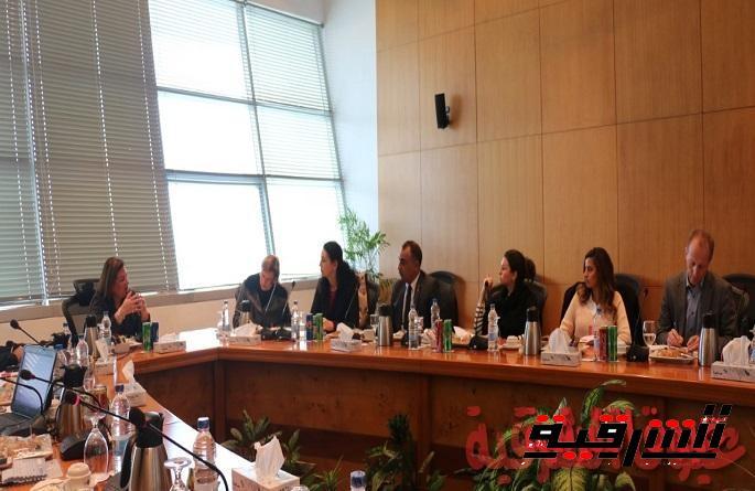"""ايتيدا تبحث مع وفد """"Henkel"""" العالمية زيادة استثماراتها وتوسيع نطاق أعمالها في مصر"""