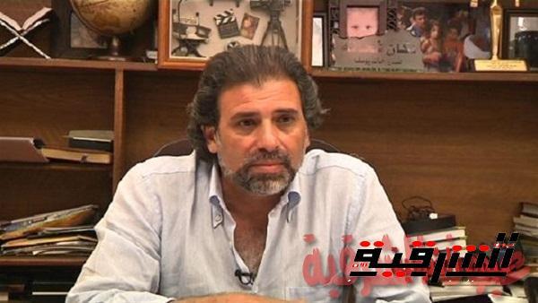 وصل النائب البرلماني خالد يوسف، لنيابة شرق القاهرة  للتحقيق معه في حيازة 100 قرص