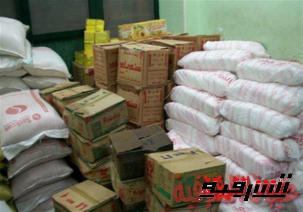 ضبط 2 طن دقيق و2 طن ملح قبل بيعهم في السوق السوداء بالشرقية