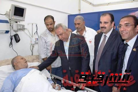 مجازاة 25 طبيب وصيدلي وإداري فني بمستشفى كفر صقر المركزي