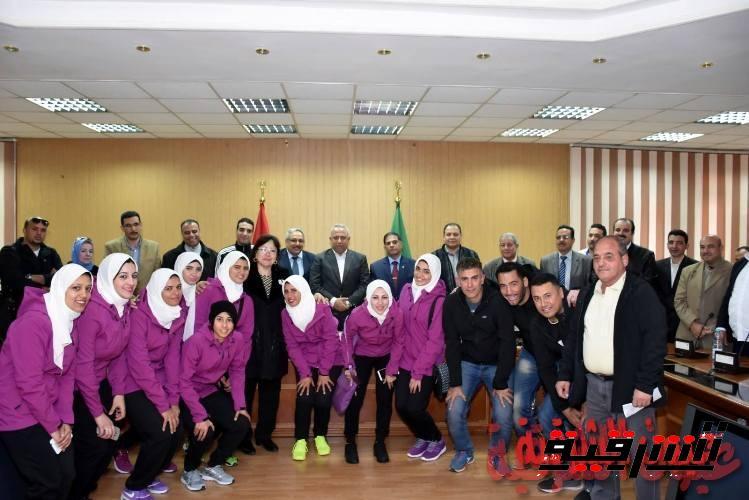 محافظ الشرقية: لقاءات شهرية مع الشباب لطرح الرؤي والأفكار