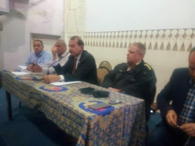 إجتماع تنسيقي لمتابعة إستعدادات الإنتخابات الرئاسية بمركز ههيا
