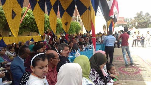 مدرسة الصوة الثانوية بأبو حماد تحتفل بيوم اليتيم