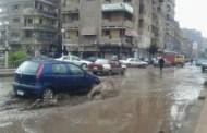 سيول وأمطار غزيرة تضرب قري ومراكز الشرقية (صور)