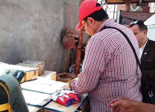 ضبط مصنع لتجهيز وتعبئة ملح الطعام غير صالح للإستخدام بمنيا القمح