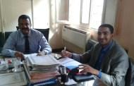 رئيس مركز ومدينة أبوحماد الجديد : مكتبي مفتوح للجميع دون وساطة،وسأشرك الشباب في حل المشاكل