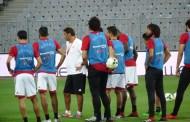 المنتخب الوطني يختتم تدريباته استعدادا لسوازيلاند غدا