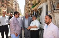 حملات مكبرة لرفع الإشغالات بمدينة الزقازيق