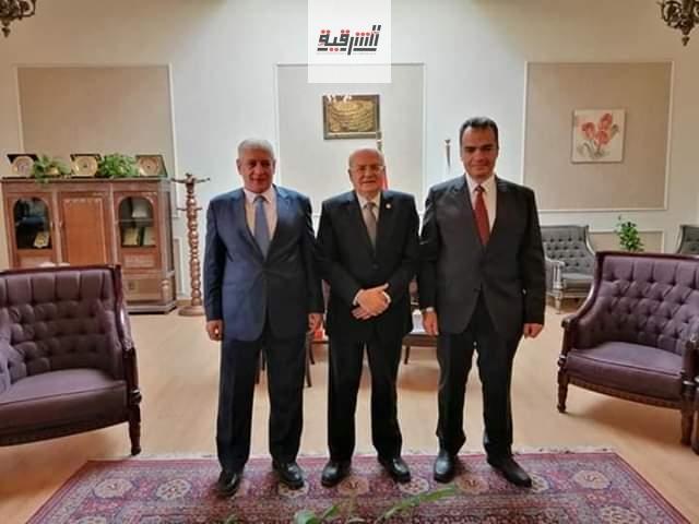 الدكتور عبد السلام عيد عميداً لكلية الطب جامعة الزقازيق