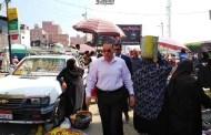 محافظ الشرقية يأمر برفع الإشغالات والأكشاك المخالفة بشوارع مدينة أبو حماد