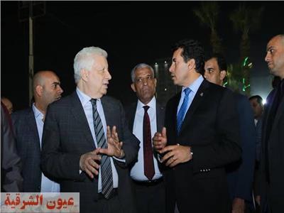 ننشر تفاصيل جلسة مرتضى منصور مع وزير الرياضة