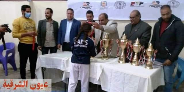 محافظ الشرقية يُهنئ الفائزين ببطولة الشرقية للتايكوندو ( ناشئين) تحت 12 سنة