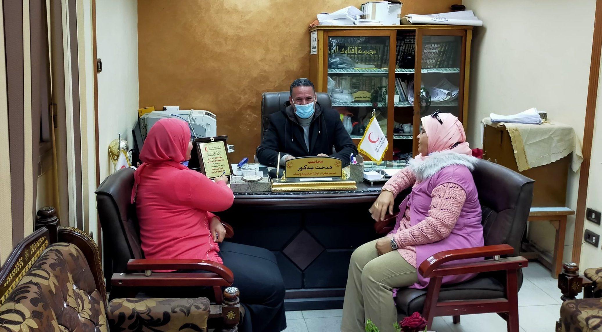نائب مجلس إدارة جمعية الهلال الأحمر المصري (2)