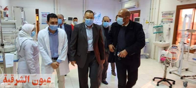 التفاصيل الكاملة لواقعة وفاة 4 مصابين بكورونا في مستشفى الحسينية