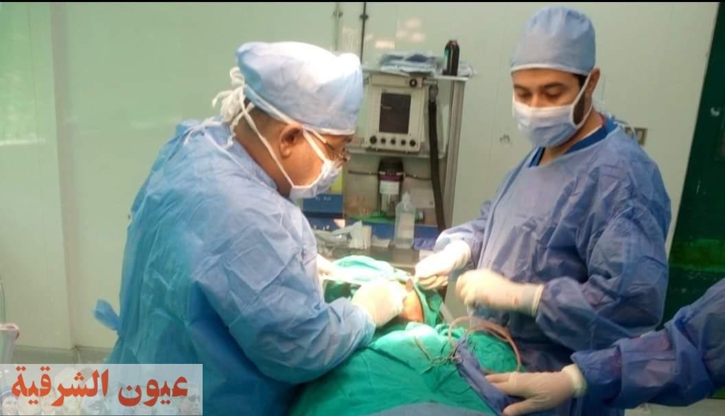 إجراء جراحة عاجلة ومتقدمة بالوجه والفكين بمستشفي القنايات المركزي