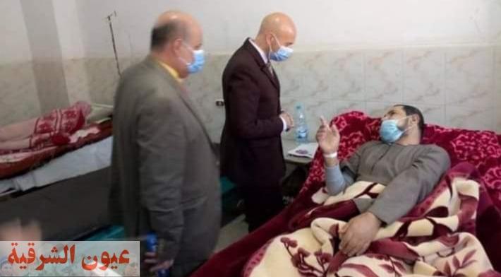 جولة مكوكية لوكيل وزارة الصحة بالشرقية علي مستشفيات بلبيس وأبوحماد والصالحية الجديدة