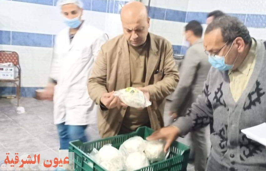 إعدام وضبط أكثر من ٢ طن أغذية فاسدة بمصنع لمنتجات الألبان بالقنايات