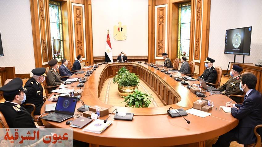 الرئيس عبد الفتاح السيسي يطلع على تطوير منشآت وزارة الداخلية على مستوى الجمهورية