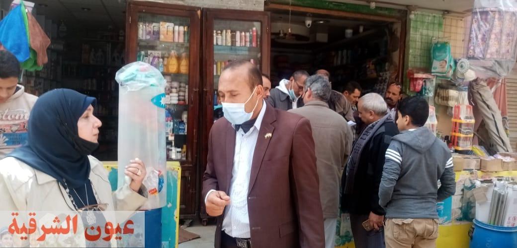 ضبط 4 طن زيت طعام مجهول المصدر خلال حملة تموينية مكبرة بقرية دبوس بههيا