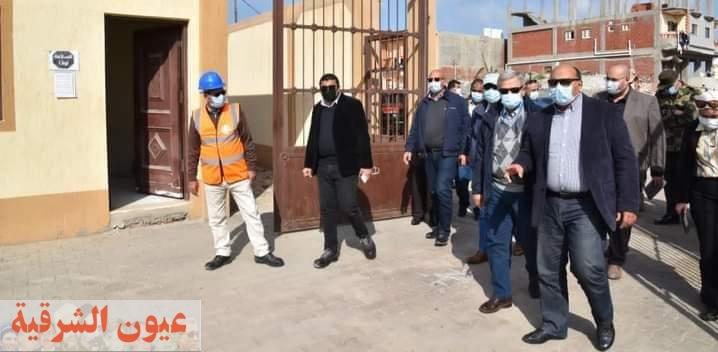 مسئولو الإسكان يتفقدون مشروعات مياه الشرب والصرف الصحى بجنوب بورسعيد