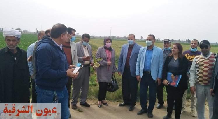 جامعة الزقازيق توجه قافلة لقرية الظواهرية بالحسينية ضمن المبادرة الرئاسية