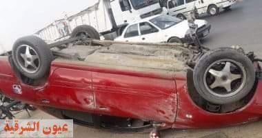 مصرع 3 أشخاص وإصابة طفلين من أسرة واحدة إثر إنقلاب سيارة