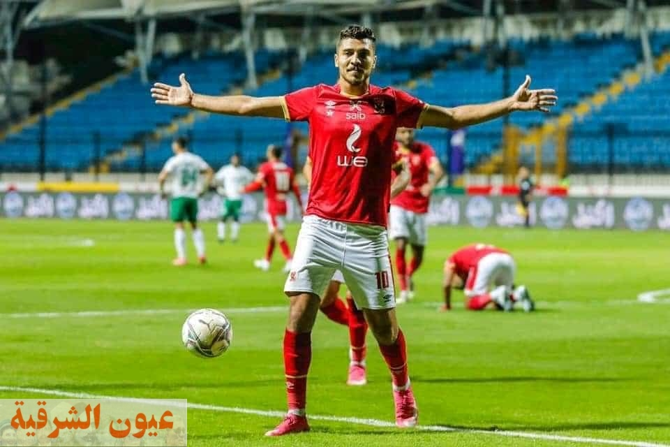 ثنائية شريف تقود الأهلي لفوز صعب علي المصري