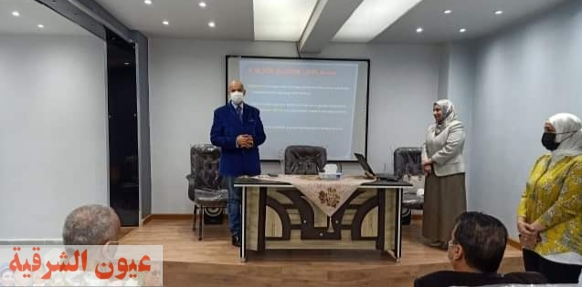 وكيل وزارة الصحة بالشرقية يشهد تنفيذ أولي محاضرات الدورة التدريبية لأطباء العناية المركزة