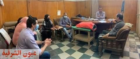 رئيس الغرفة التجارية يكرم وكيل وزارة الصحة بالشرقية علي جهوده في مواجهة كورونا