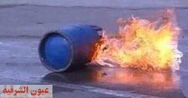 إصابة ربة منزل بحروق في إنفجار إسطوانة بوتاجاز بالشرقية