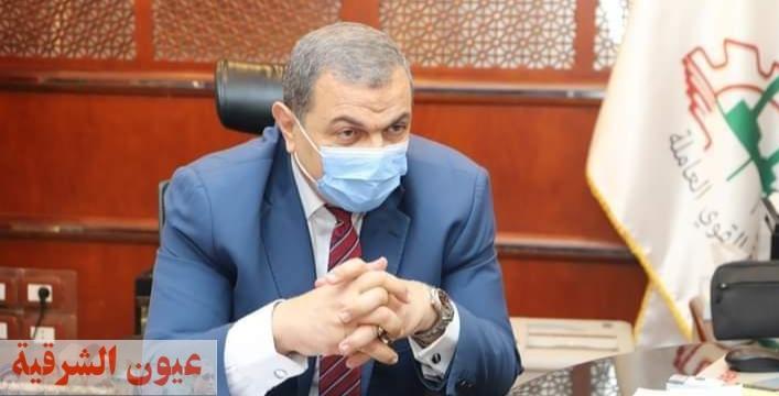 القوى العاملة : التفتيش على 132 منشأة و تعيين 24 شاب منهم ٣ شباب من ذوي الهمم بشمال سيناء