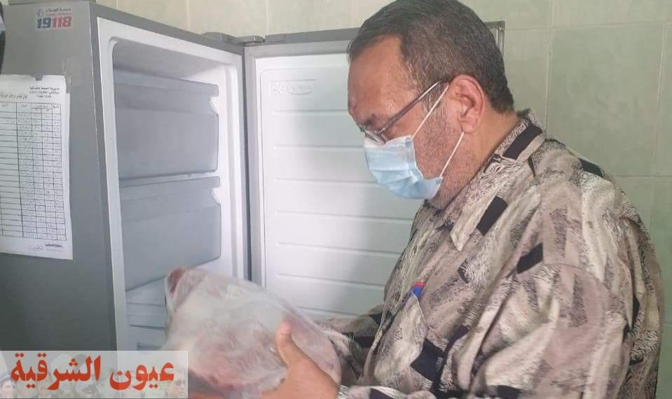 إعدام ما يقارب طن ونصف أغذية وغلق 22 منشأة غذائية مخالفة بالشرقية