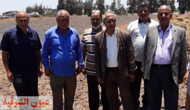وكيل وزارة الزراعة بالشرقية يتفقد المحاصيل الصيفية ومعلف ومركز تجميع ألبان بديرب نجم