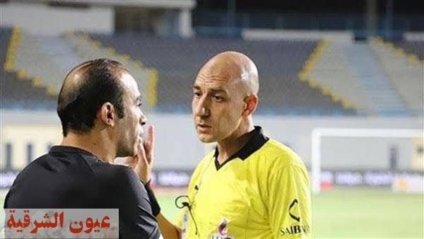 محمد عادل حكمًا لمباراة الأهلي وأسوان في الدوري المصري