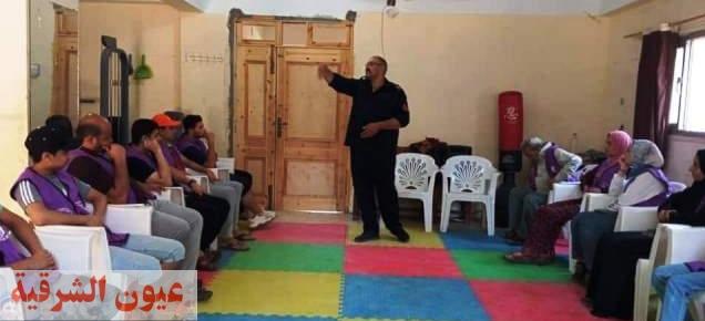 شباب ورياضة الشرقية تنفذ دورة حماية مدنية لأعضاء أندية التطوع بمركز شباب منشأه رضوان بأبو كبير