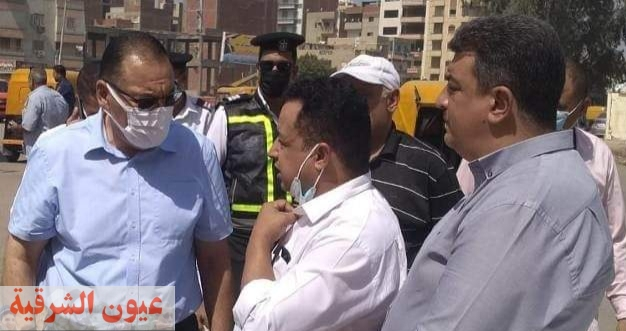 محافظ الشرقية يوجه برفع كفاءة ورصف عدد من الشوارع بكفر صقر