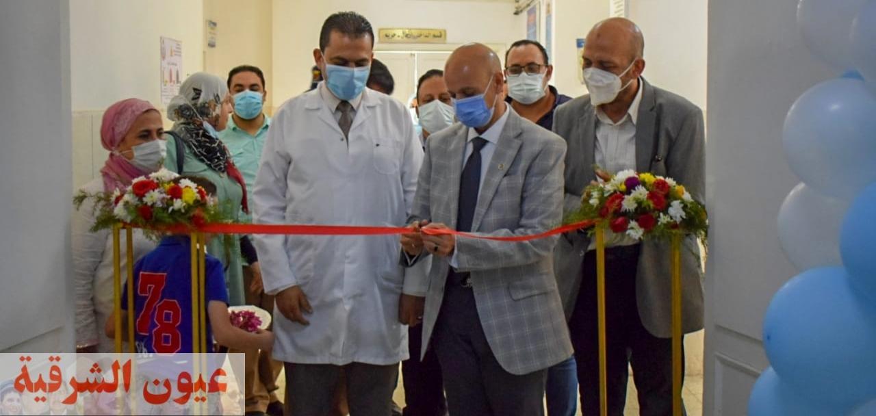 وكيل وزارة الصحة بالشرقية يفتتح قاعة التدريب بمستشفى الصالحية..ويشهد اليوم العلمي الأول لطب الأطفال