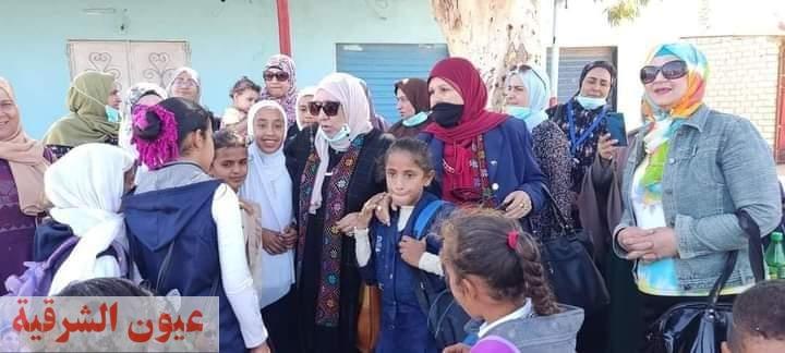 انطلاق فاعليات حملة طرق الابواب المرأة المصرية صانعة السلام بشمال سيناء